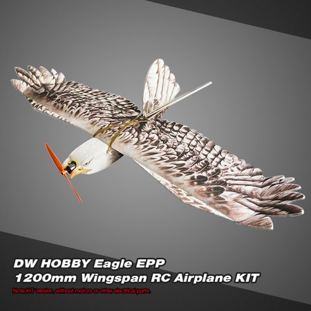 DW HOBBY Biomimetic Eagle EPP Mini Slow Flyer 1200mm Wingspan RC Airplane KIT Flyer Remote Control Airplane