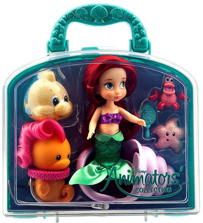 Disney Princess Animators' Collection Ariel Mini Doll Playset