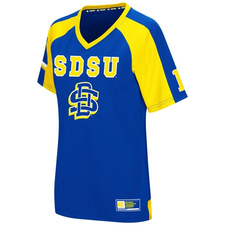 Womens NCAA South Dakota State Jackrabbits Torch Football Jersey - Halloween Bar Events South Jersey