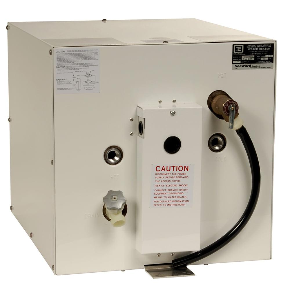Whale Marine S650EW-3000 Whale Seaward 6 Gallon Hot Water Heater - White Epoxy - 240v - 3000w