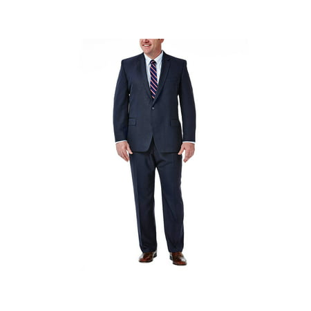 Big & Tall Travel Performance Suit Separate Jacket Classic Fit HZ90268