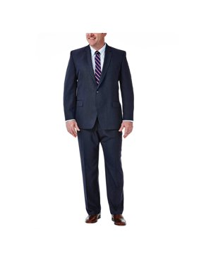 08c16f66 Product Image Haggar Big & Tall Travel Performance Suit Separate Jacket  Classic Fit HZ90268