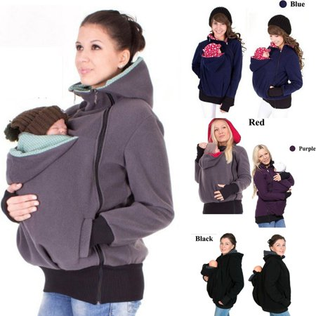 11250597a Hotwon - Baby Carrier Jacket Kangaroo Winter Maternity Outerwear ...