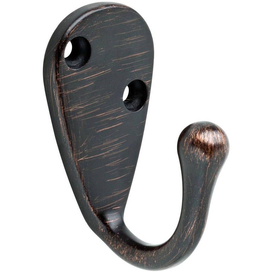 Liberty Large Single Robe Hook, Venetian Bronze by Generic