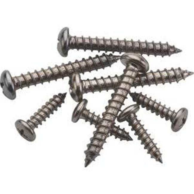 Stanley Hardware S822-084 Mounting Screw, Chrome