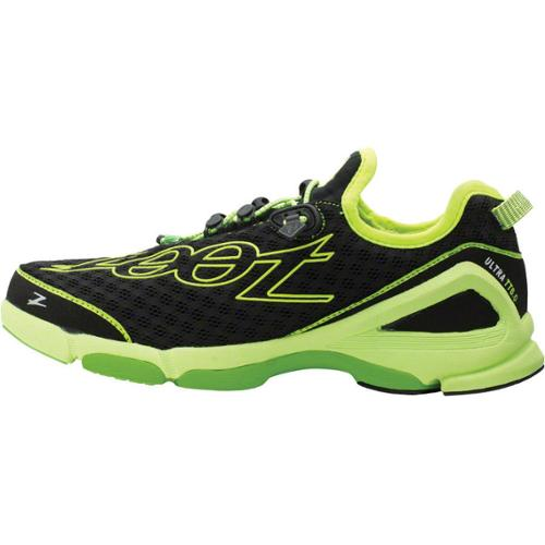 Zoot TT 6.0 Run Shoe Black/Yellow/Green Women's US 7.5