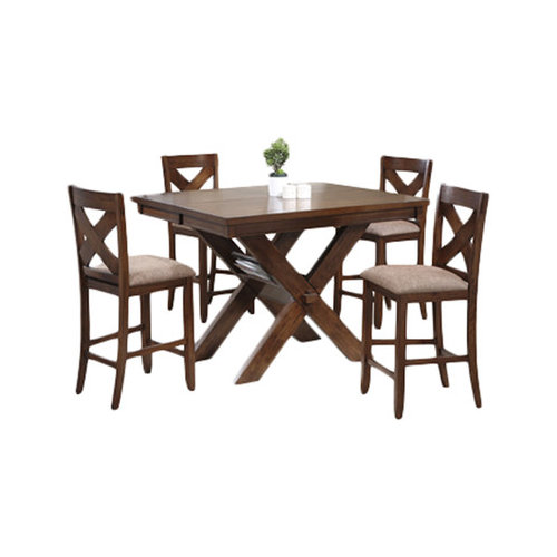 Powell Furniture Kraven 5 Piece Counter Height Dining Set