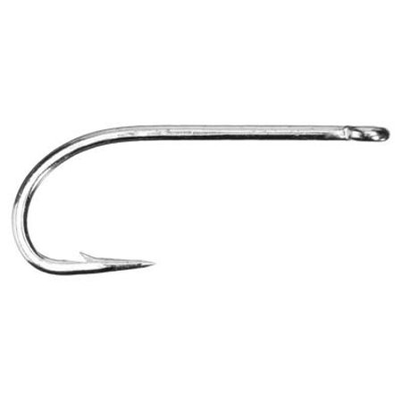 S71SNP-DT Saltwater 34007 Fly Hooks - 8, Color - Duratin By Mustad Ship from US