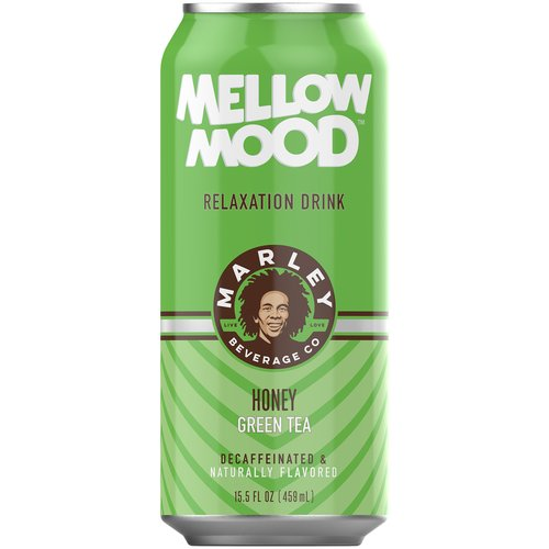 Mellow Mood Honey Green Tea Relaxation Drink, 15.5 fl oz