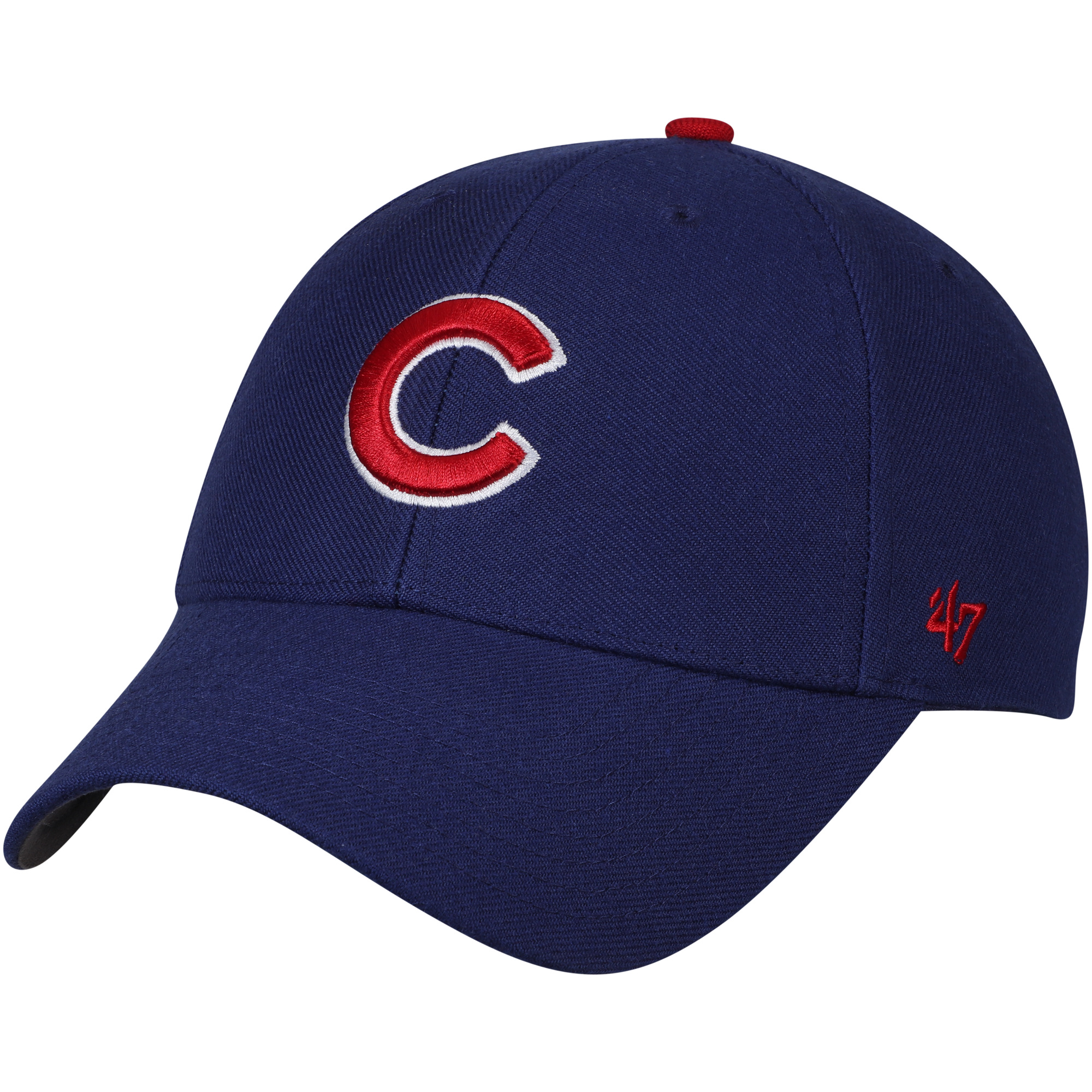 Chicago Cubs '47 MVP Little C Wool Adjustable Hat - Royal - OSFA