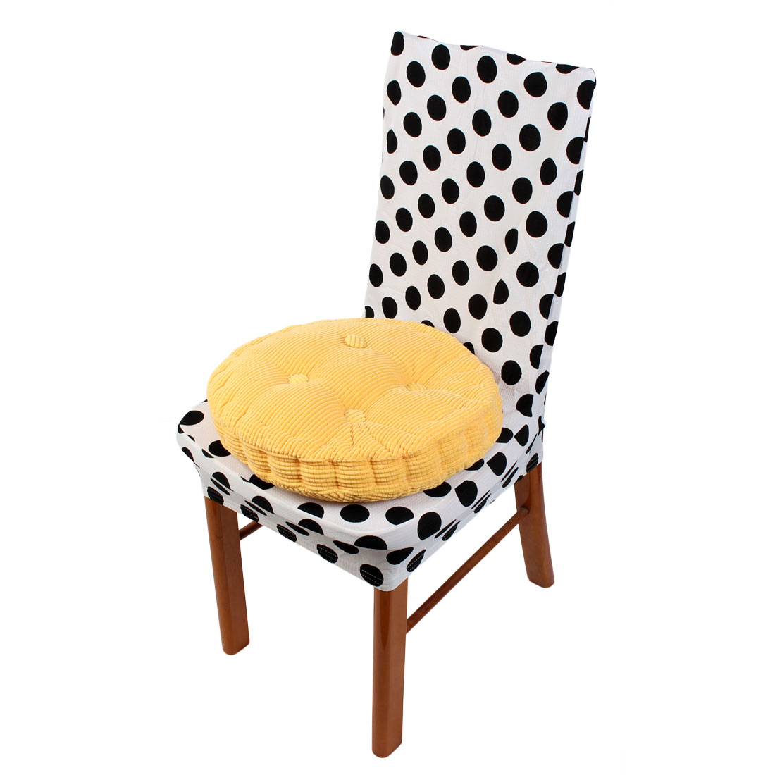 Unique Bargains Home Office Patio Round Shaped Seat Comfortable Cushion Chair Pad for Indoor Outdoor Use
