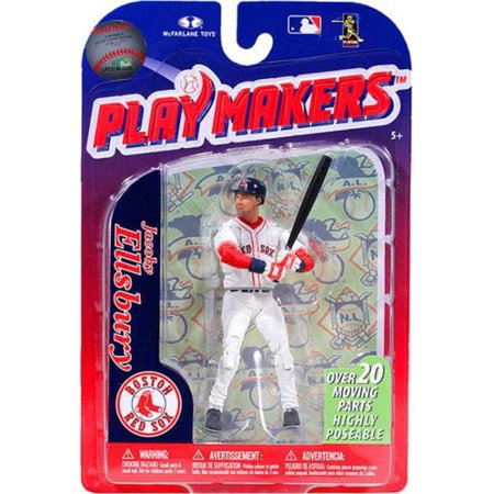 Mcfarlane Mlb 3 Figure - McFarlane MLB Playmakers Series 3 Jacoby Ellsbury Action Figure