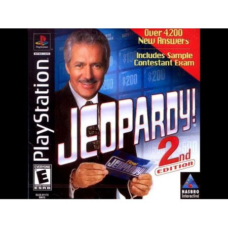 Jeopardy 2nd Edition- Playstation PS1