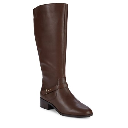 Bloema Wide Calf Tall Leather Boots