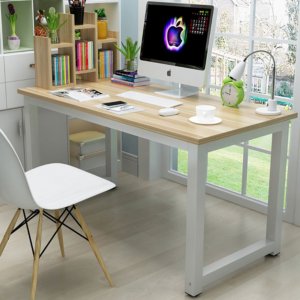 Ktaxon Wood Computer Desk PC Laptop Study Table Workstation Home Office  Furniture   Walmart.com