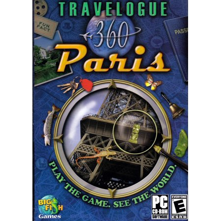 Travelogue 360 Paris (PC Game) Play the game. See the World. 22 Eye Catching (Best Games To Play On Computer)