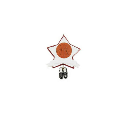 NBA Basketball Star Glitter Personalized Christmas Ornament DO-IT-YOURSELF