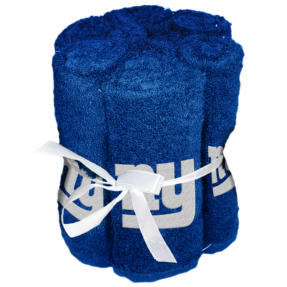 New York Giants NFL Washcloths (6 Pack)