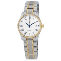 Longines Master White Dial Automatic Mens Watch (Stainless Steel)