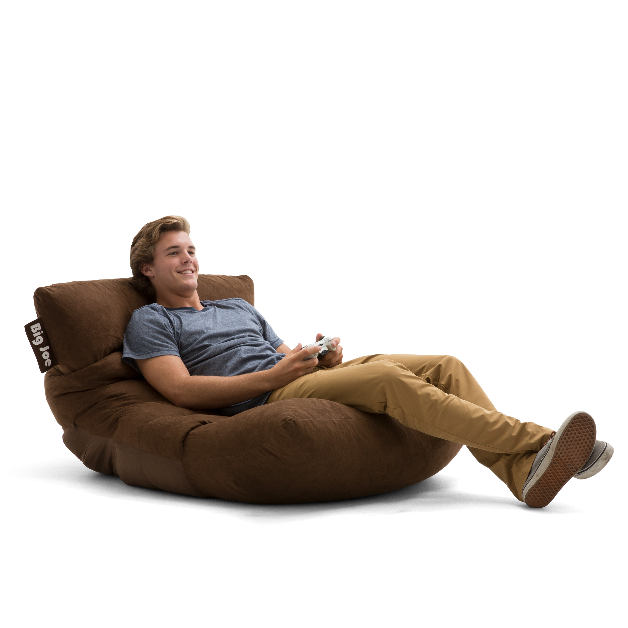 Groovy Big Joe Roma Floor Bean Bag Chair Multiple Colors Fabrics Pabps2019 Chair Design Images Pabps2019Com