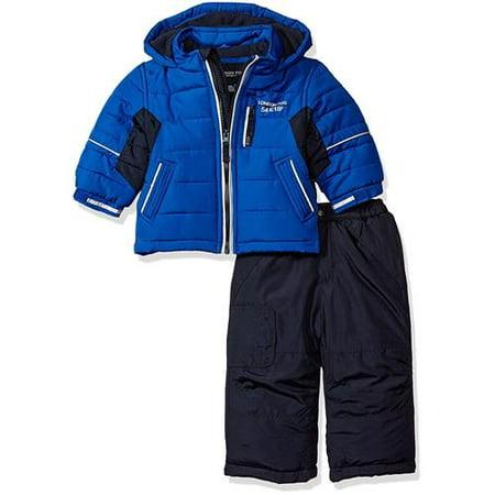 653b2fadc420 London Fog Boys 12-24 Months Snow Pant Jacket Snowsuit - Walmart.com