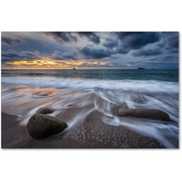 "Trademark Fine Art ""The Song of Water"" Canvas Art by Mathieu Rivrin"