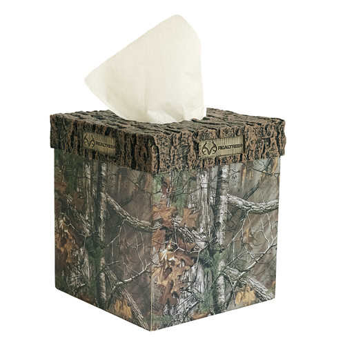Realtree Bedding Xtra Tissue Box Cover
