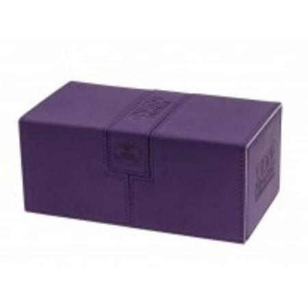 Twin Flip Deck Box w/Tray - Xenoskin, Purple (200+) New