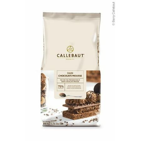 Callebaut Dark Chocolate Mousse Mix 1.76 lb Bag