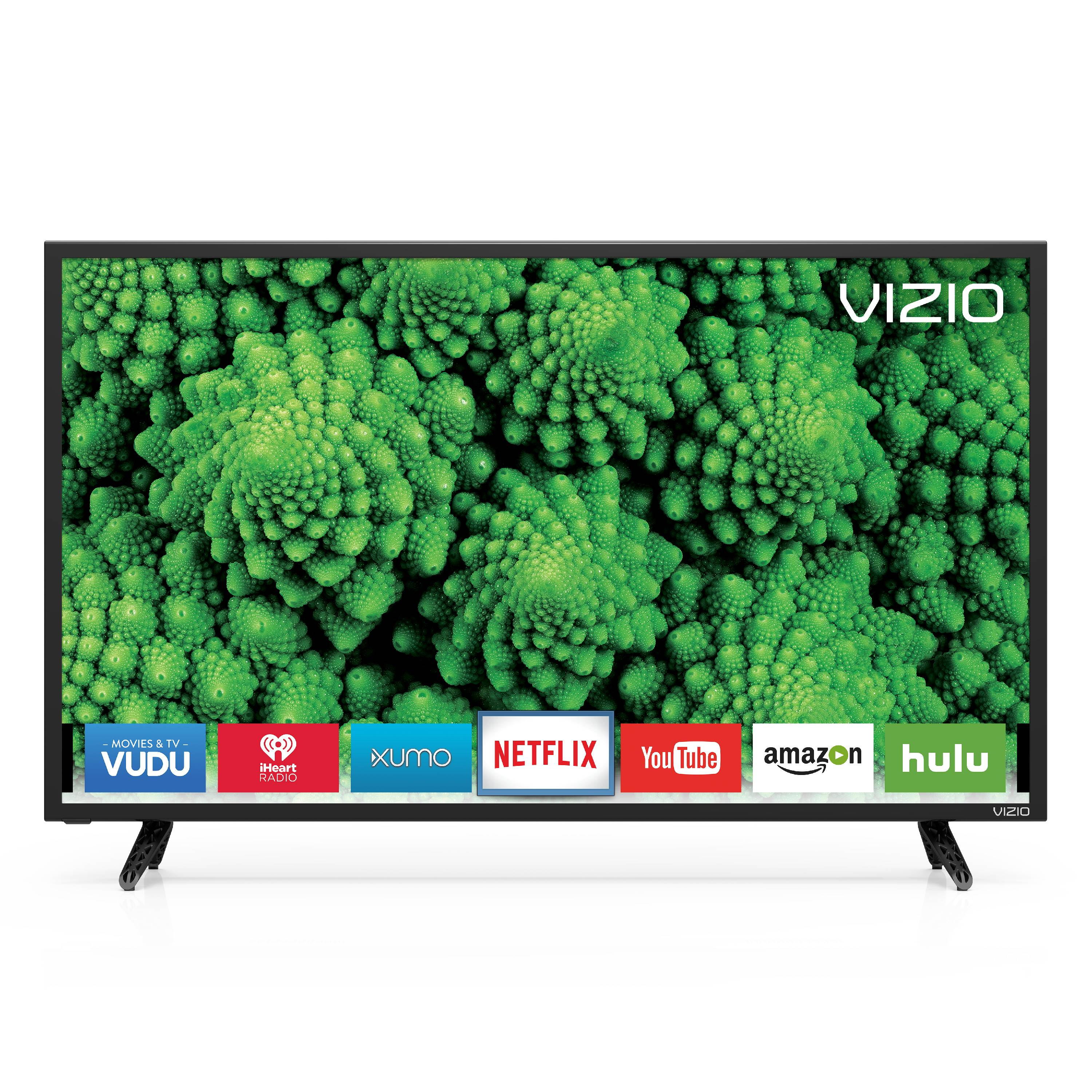 Vizio 43 class fhd 1080p smart led tv d43f e2 walmart fandeluxe Image collections