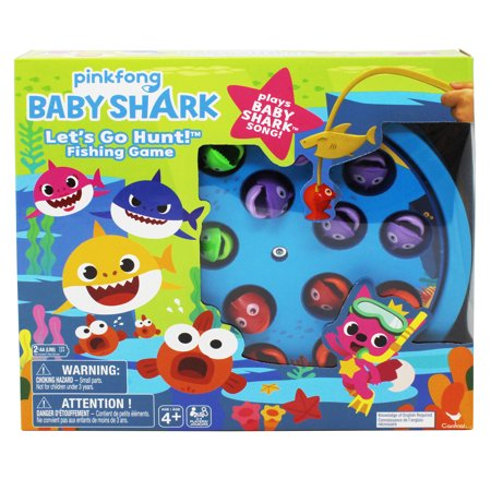 Pinkfong Baby Shark Let's Go Hunt Fishing Game - Plays the Baby Shark (Games For Couples To Play In Bed)