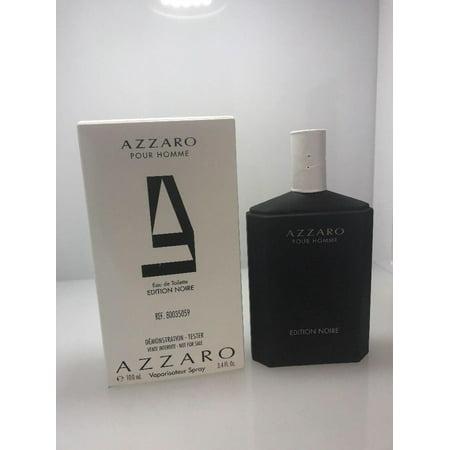 Azzaro Pour Homme Edition Noire For Men 3.4 oz Eau De Toilette Spray