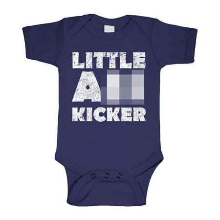 Little     Kicker   Mma Bjj Fight Roll    Cotton Infant Bodysuit