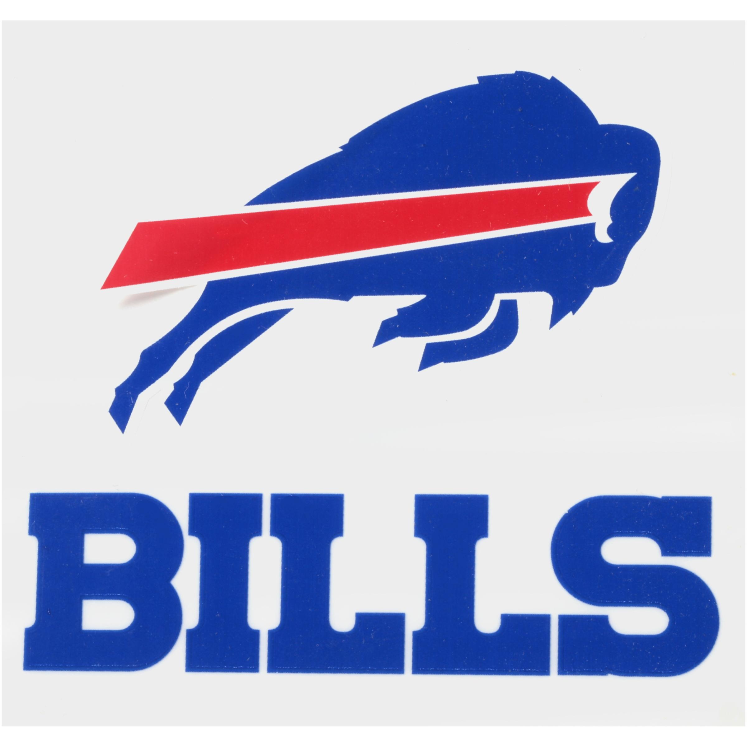 Rico Industries NFL Buffalo Bills Small Static Cling