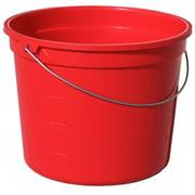 Encore Plastics 05160-201048 5 Quart Red Plastic Pail With Handle