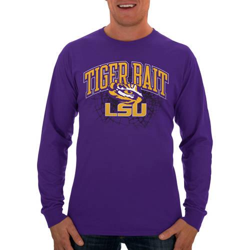 Russell NCAA LSU Tigers Big Men's Long  T-Shirt