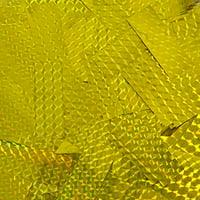 Gold Metallic Laser-Printed Confetti