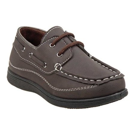 Italian Lace Shoes - Lace up Toddler Boys Boat Shoes