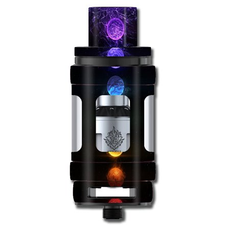 Skins Decals For Smok Tfv12 Cloud King Tank Vape Mod / Energy Chakra Zen (Zen V Orange Skin)