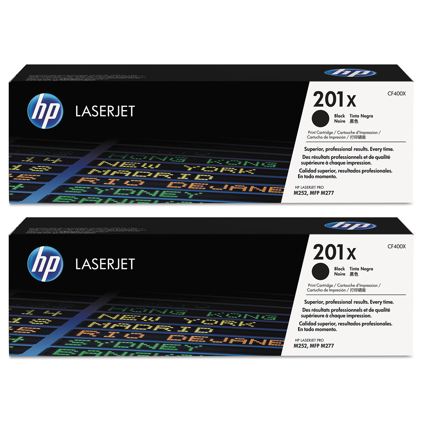Buy two HP201x Black Toner and get $25 off