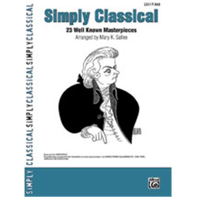 Alfred 00-30042 Simply Classical - Music Book