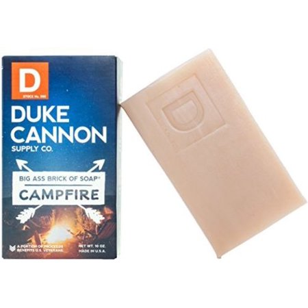 Duke Cannon Men's Big Ass Campfire American Brick Of Bar Soap 10oz