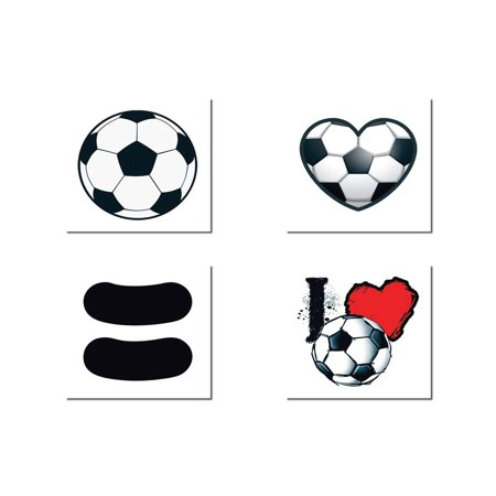 Soccer Temporary Tattoo Pack for $<!---->