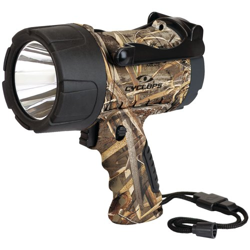Cyclops Cyc-350wpaa-rt 350-lumen Realtree Max-5 Camo Handheld LED Spotlight by Cyclops
