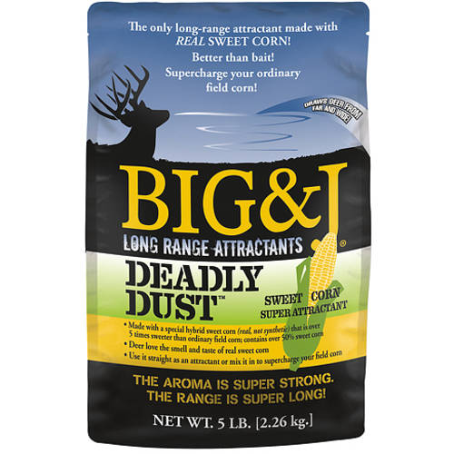 Big And J Deadly Dust Sweet Corn Attractant, 5 lbs.