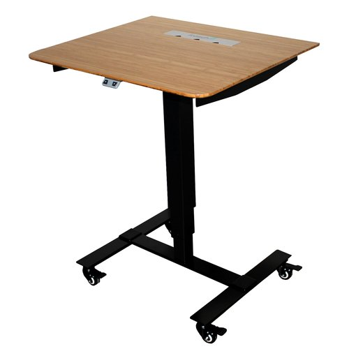 Fr sch Sit Stand Electric Portable Presentation Standing Desk