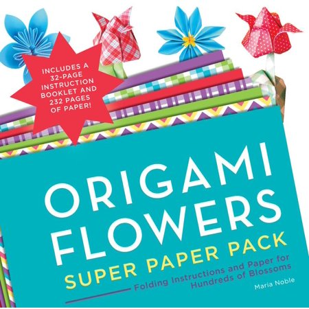Making Memories Blossoms Paper Flowers - Origami Super Paper Pack: Origami Flowers Super Paper Pack: Folding Instructions and Paper for Hundreds of Blossoms (Paperback)