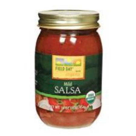 Field Day 100% Organic Mild Salsa 16 oz. by Field Day