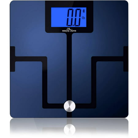 Easy@Home Bluetooth Digital Smart Body Fat Scale (CF351BT) with Free iOS  and Android App