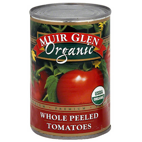 Muir Glen Organic Whole Peeled Tomatoes, 14.5 oz (Pack of 12)